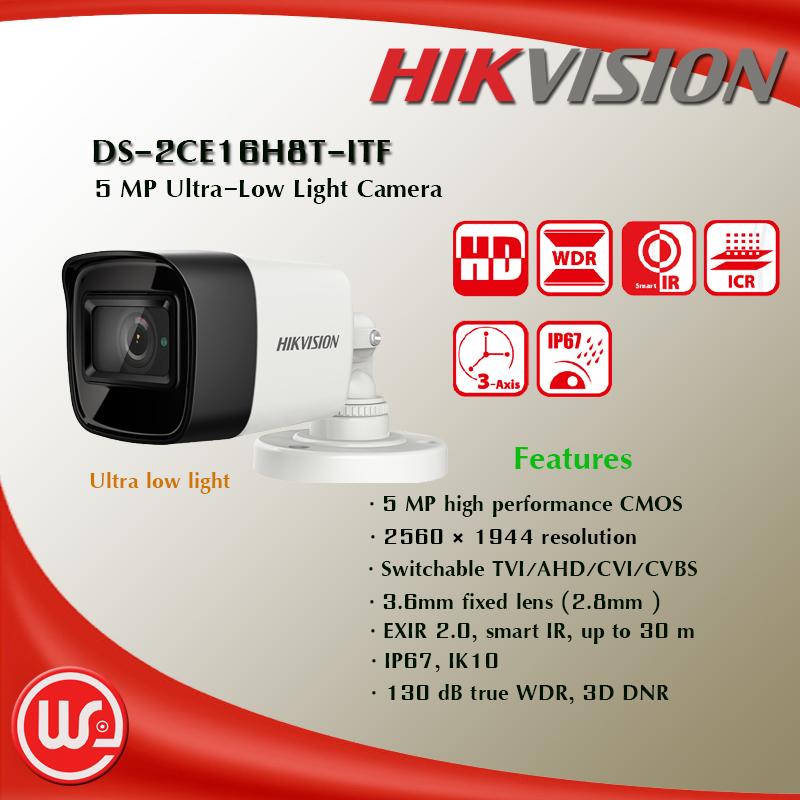 DS-2CE16H8T-ITF - we-prosmarttech บริการกล้องวงจรปิดทุกประเภท